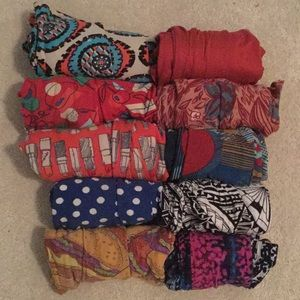 Pack of 8 LuLaRoe Leggings